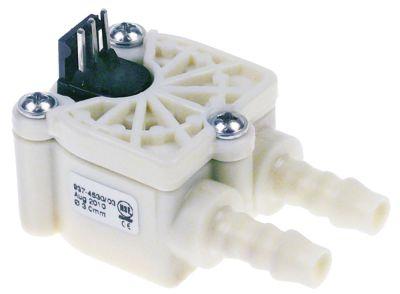 ροομετρητής ø σωλήνα 8mm πλαστικό έγκριση NSF  ονομαστική-ø 3mm