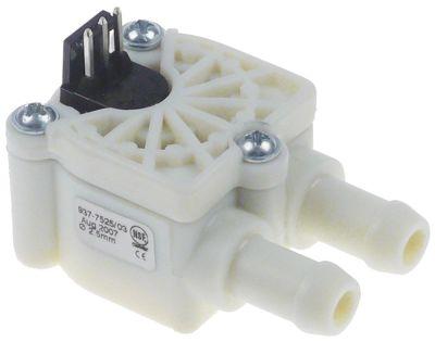 ροομετρητής ø σωλήνα 10.5mm πλαστικό έγκριση NSF  ονομαστική-ø 2.5mm παροχή 5l/min