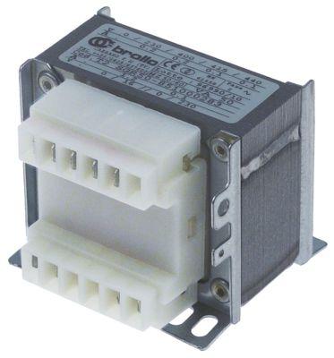 μετασχηματιστής κύρια τάση 230/400/415/440 V δευτερεύον 0-230VAC  δευτερεύον 0-16 V 50VA