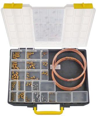 τσάντα σωλήνες πιλότου 2x σωλήνες πιλότοι 3000mm ø4/6mm