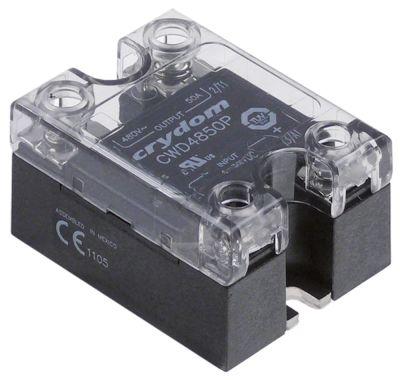 ρελέ CRYDOM  φάσεις 1 50A 480V 4-32VDC  Μ 57mm W 45mm βίδα τύπος CWD4850P