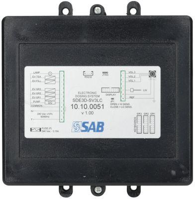 κεντρική μονάδα 230V 50/60 Hz 3 ομάδες τύπος SDE3D SV3LA  τάση AC