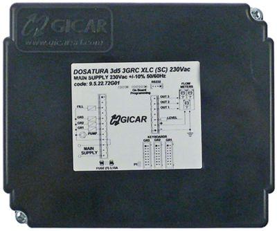ηλεκτρονικό κιβώτιο 230V 50/60 Hz τύπος 3d5 3GRC XLC (SC)