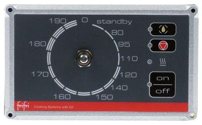 πληκτρολόγιο φριτέζα για συσκευή EASY PLUS  Μ 93mm W 155mm κατάλληλο για FRIFRI  θέση στερ. κουμπιά 4