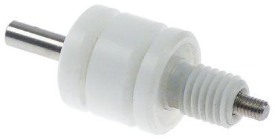 ηλεκτρόδιο στάθμης M10x1,5  συνολικό μήκος 54mm Μ αισθητηρίου 15mm μήκος μονωμένου αισθητηρίουmm