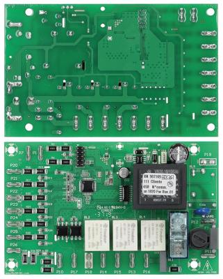 πλακέτα πλύση κουζινικών για συσκευή Tronic  Μ 122mm W 80mm για χρονόμετρο Ποσ. 1 τεμ.