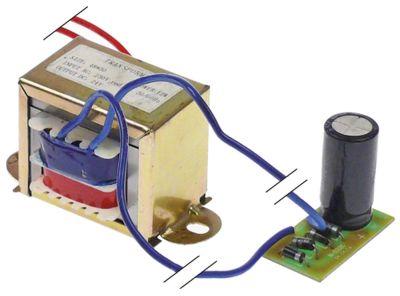 μετασχηματιστής κύρια τάση 230VAC  δευτερεύον 24VDC  12VA δευτερεύον 0,5A