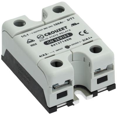 ρελέ φάσεις 1 100A 48-660 V 4-32VDC  τύπος 84137140 Μ 58mm W 49mm νέα έκδοση CROUZET