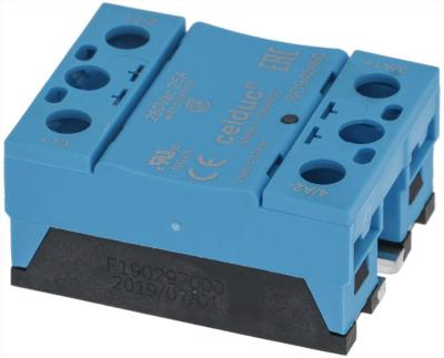 ρελέ CRYDOM  φάσεις 1 25A 240V 3-32VDC  Μ 57mm W 45mm βίδα τύπος CSW2425G