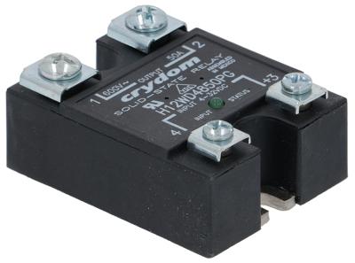 ρελέ CRYDOM  φάσεις 1 50A 600V 4-32VDC  Μ 59mm W 46mm βίδα τύπος H12WD4850PG