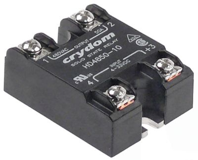 ρελέ CRYDOM  φάσεις 1 75A 48-530 V 3-32VDC  Μ 58,4mm W 45,7mm βίδα τύπος HD4875