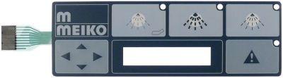μεμβράνη πληκτρολογίου διάταξη απολύμανσης για συσκευή KD10-40  κουμπιά 3 κατάλληλο για MEIKO