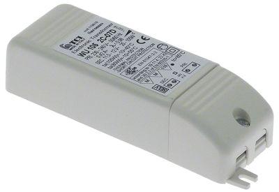 μετασχηματιστής κύρια τάση 230VAC  δευτερεύον 12VAC  105VA δευτερεύον  -A Μ 128mm