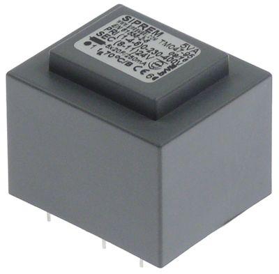 μετασχηματιστής κύρια τάση 230-400 V δευτερεύον 24V H 35mm Μ 40mm W 34mm τύπος TM047-95