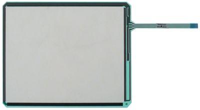 μεμβράνη πληκτρολογίου για συνδυαστικό ατμομάγειρα για συσκευή σειρά SCC Μ 230mm W 124mm