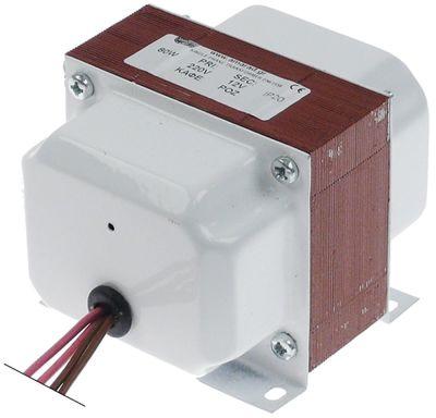 μετασχηματιστής κύρια τάση 220 δευτερεύον 12 0.1kW H 75mm Μ 99mm W 84mm σύνδεσμος καλώδιο