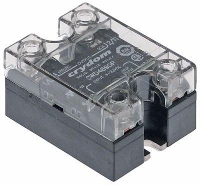 ρελέ CRYDOM  φάσεις 1 90A 480V 4-32VDC  Μ 58mm W 44mm βίδα τύπος CWD4890P