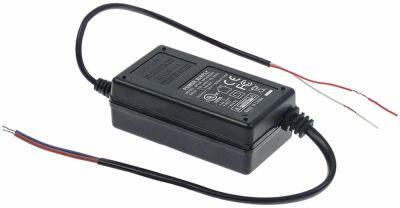 τροφοδοτικό κύρια τάση 100-240VAC  δευτερεύον 24VDC  δευτερεύον 0,6A H 30mm Μ 85mm