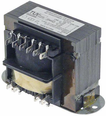 μετασχηματιστής κύρια τάση 208/220/230/240VAC δευτερεύον 12/24VAC  H 65mm Μ 65mm W 130mm
