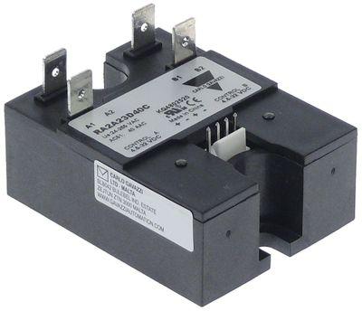 ρελέ CARLO GAVAZZI  φάσεις 2 40A 24-265V 4,6-32VDC Μ 58mm W 44mm αρσενικό εξάρτημα 6,3mm