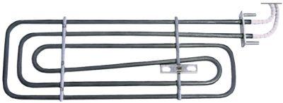 αντίσταση 1200W 230V θερμαντικά κυκλώματα 1 Μ 282mm W 100mm H  -mm ø σωλήνα 6.3mm Μ1 14mm