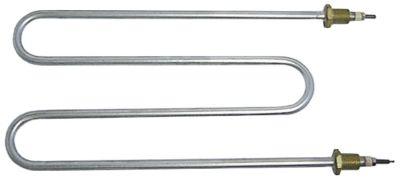 αντίσταση 1100W 230V Μ 275mm W 143mm 2 ούπα σπείρωμα M14x1,5  απόσταση στερέωσης 137mm