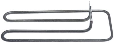 αντίσταση 1000W 230V θερμαντικά κυκλώματα 1 Μ 220mm W 103mm H 32mm ø σωλήνα 6.3mm Μ1 42mm