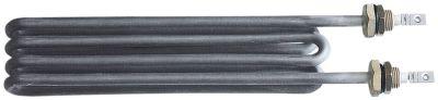 αντίσταση 3000W 230V Μ 264mm W 58mm H 28mm 2 ούπα σύνδεσμος M4  σπείρωμα M16x1,5  ø σωλήνα 8,5mm