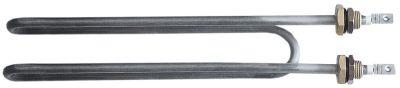 αντίσταση 1850W 230V Μ 284mm W 48mm H 28mm 2 ούπα σύνδεσμος M4  σπείρωμα M16x1,5  ø σωλήνα 8.5mm