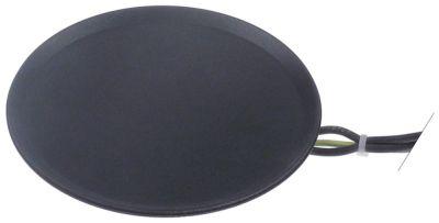 εστία 100-240 V θερμαντικά κυκλώματα 1 ø 125mm σύνδεσμος σύνδεση plug-in μήκος καλωδίου 500mm