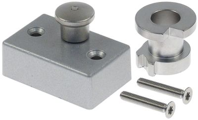 κάλυμμα κιτ για θερμαντικό στοιχείο Μ 58mm W 37mm απόσταση στερέωσης 39mm