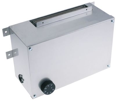 μονάδα θέρμανσης για θερμαινόμενο ερμάριο 2000W 230V 50Hz θερμαντικά κυκλώματα 1 Μ 300mm W 190mm
