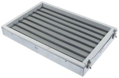 κεραμική εστία ορθογώνιο 3500W 400V Μ 415mm W 275mm θερμαντικά κυκλώματα 1 συνδέσεις 2x1