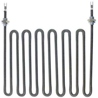 αντίσταση 1100W 240V θερμαντικά κυκλώματα 1 Μ 185mm W 220mm ø σωλήνα 6.5mm