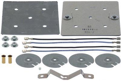αντίσταση κιτ μετατροπής 1400W 230V Μ 140mm W 125mm για συσκευή VCC 112