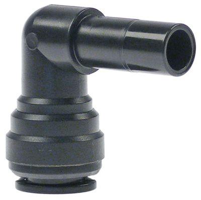 σύνδεσμος σωλήνα DMfit  σύνδεση σωλήνα ø 8mm  ø ροδέλας 8mm