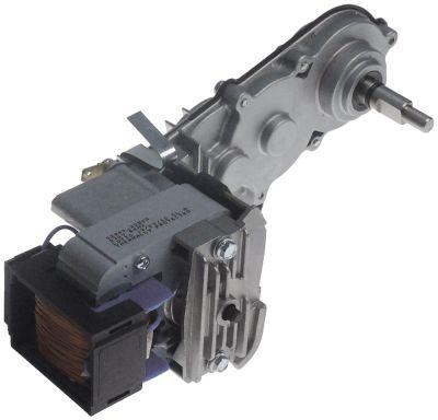 μειωτήρας τύπος 22800-22500  10W 230V τάση AC  50Hz ø άξονα 12x8 mm Μ 240mm W 88mm H 90mm
