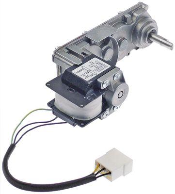 μειωτήρας ELCO  70/60 W 230V τάση AC  50/60 Hz 32/38 σαλ ø άξονα 6x12 mm Μ 225mm W 75mm H 100mm