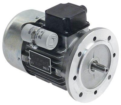 μοτέρ 450W 230V 50Hz φάσεις 1 φάση ø άξονα 14mm ø φλάντζας 160mm 1360σαλ τύπος M71B4  ø 140mm