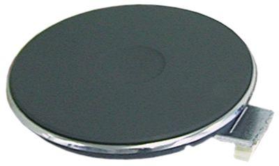 εστία ø 220mm 2000W 230V με πέτασμα δακτυλίων σύνδεσμος 4 βιδωτοί σφιγκτήρες