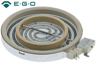 κεραμική εστία ø 200mm 1700W 230V θερμαντικά κυκλώματα 2 H 32mm ρύθμιση ενέργειας