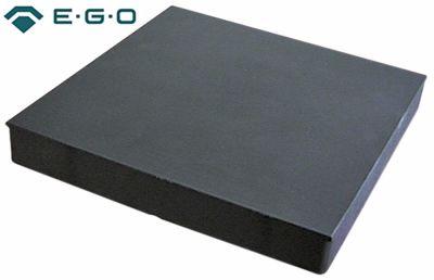 εστία διαστάσεις 300x300 mm 4000W 440V με χυτό άκρο H 43mm σύνδεσμος 4 βιδωτοί σφιγκτήρες