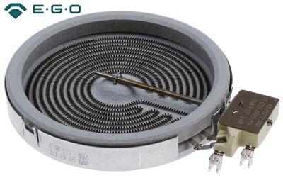 κεραμική εστία στρογγυλό ø 165mm 1200W 400V θερμαντικά κυκλώματα 1 H 31mm