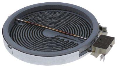 κεραμική εστία στρογγυλό ø 230mm 2300W 400V θερμαντικά κυκλώματα 1 H 32mm