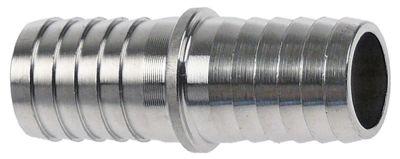 σύνδεσμος σωλήνα ø σωλήνα 13-13 mm Μ 40mm ευθύ