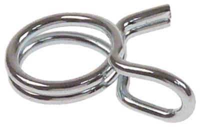 σφικτήρας καλωδίων ø 5,6-6 mm ø διατομής σύρματος 0,8mm
