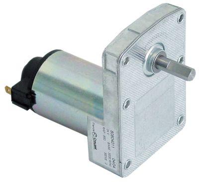 μειωτήρας CROUZET  τύπος 80804011 24V 4,6σαλ ø άξονα 0,88mm Μ 92mm W 64mm H 97mm για φρυγανιέρα