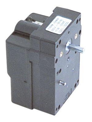 μειωτήρας LIP  τύπος 068 11W 230V τάση AC  50Hz 1σαλ ø άξονα 7mm μήκος άξονα 20mm W 75mm D 80mm