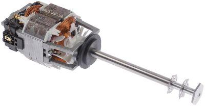 μοτέρ για μπλέντερ μπαρ 230V 100W 50/60 Hz 14000σαλ ø άξονα 10mm μήκος άξονα 143mm H 83mm