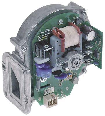 ανεμιστήρας ψύξης 230V τάση AC  50Hz 25W H1 143mm Μ1 127mm ø D1 27mm Π1 85mm Π2 23mm H2 43mm Π3 76mm
